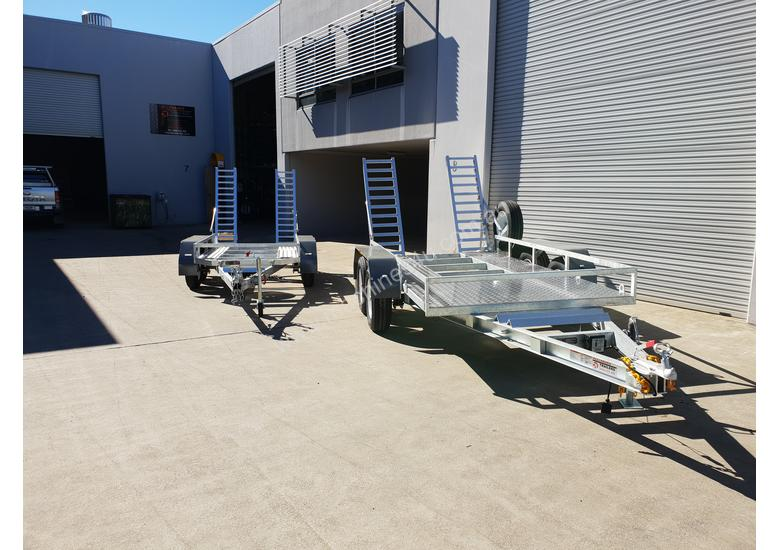 Steel Galvanized Plant Trailers