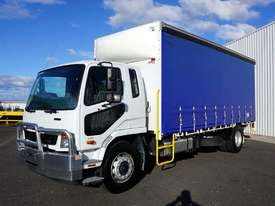 2014 Mitsubishi FM 1627 Automatic 10 Pallet Curtainsider - picture0' - Click to enlarge