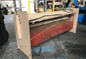 Guillotine Hydraulic 415 Volt 8' 2438mm Sheet Metal Cutting