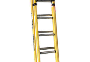 Branach Fiberglass Extension Ladder 2.7 to 3.9 Meter Industrial Quality
