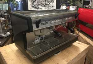 NUOVA SIMONELLI APPIA 2 GROUP BLACK BARISTA ESPRESSO COFFEE MACHINE HI CUP CAFE