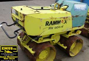 2008 Rammax RW1504-HF Remote Control Trench Roller. EMUS NQ