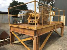 Jaw Crusher 150 mm x 750 mm on stand with motor - picture1' - Click to enlarge