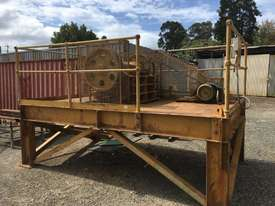 Jaw Crusher 150 mm x 750 mm on stand with motor - picture2' - Click to enlarge