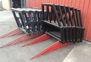 SPARAX RB 2 PRONG  HIGH BACK Bale Forks Hay/Forage Equip