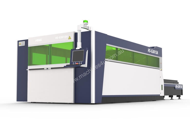 HSG 3015A 1kW IPG Fiber Laser Cutting Machine - ***BOOK IN A DEMO TODAY***