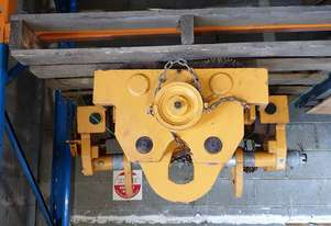 Beam Trolley Girder Carriage 20 Ton Pacific Hoist Adjustable Width