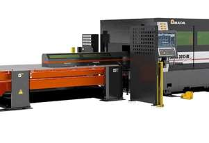 ENSIS RI (Flat/Tube Combo) includes Amada's innovative Rotary Index. Check out the video!!!