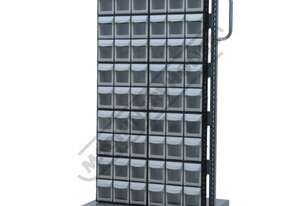 MSS-60F Mobile Storage Bin Systems 690 x 560 x 1460mm 60 Same Size Bins