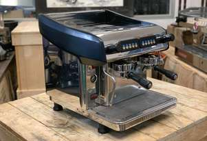 EXPOBAR MEGACREM 2 GROUP COMPACT STAINLESS ESPRESSO COFFEE MACHINE