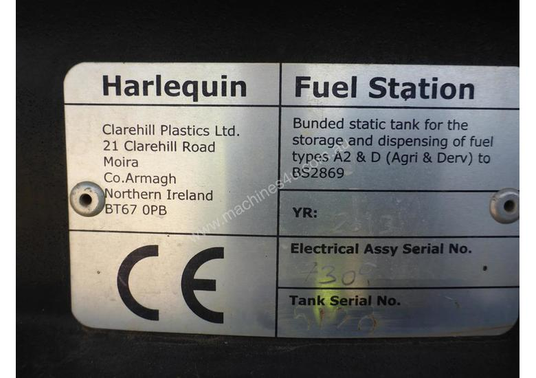 Harlequin AdBlue Fuel Station - S/N: Tank - 5120 & Electrical Assy - 7309
