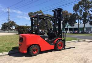 Brand New Hangcha 3.5 Ton Dual Fuel Forklift