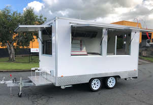 Maxi Food Trailer - Turnkey, Ready To Go