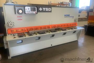 YSD HGNK 3100 x 8mm Pneumatic Sheet Supports VR Guillotine