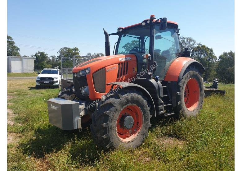 Kubota M7171 Tractor With Warranty