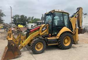 Caterpillar CAT 432F Backhoe Loader