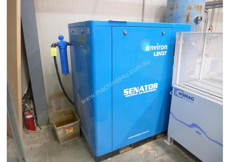 Senator Environ LSV37 Electric Rotary Screw Compressor