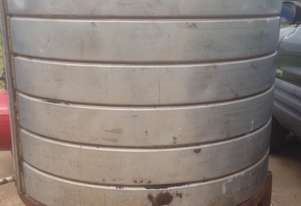 1000 lt stainless steel jacketed vessel