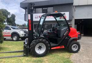 Manitou MC 18-4 4WD rough terrain Forklift - 2017 stock