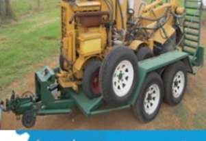 Webtrac Stump Grinder on JR Collins Trailer - $15,400