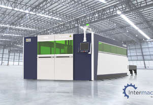 HSG 4020A 3kW Fiber Laser Cutting Machine (IPG source, Alpha Wittenstein gear)