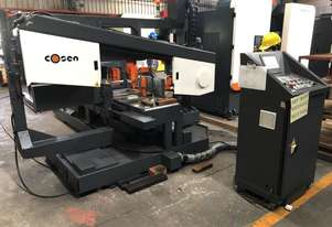 New COSEN M5 CNC 'Servo' Mitre Bandsaw (extra long feed)