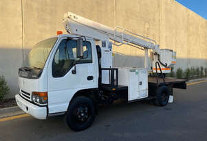 Isuzu NPR Elevated Work Platform Truck