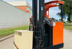 2004 TOYOTA BT RR M16 1.6T Electric Reach Forklift - 7m High 1600kg Capacity