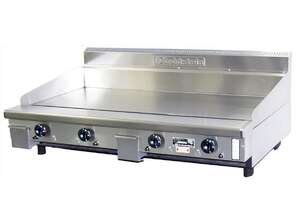 Goldstein GPGDB48TK 1220mm Gas Teppanyaki Griddle Smooth Mild Steel Plate