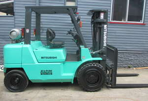 Mitsubishi 4 ton Container Mast Used Forklift #1578