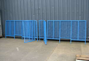 Safety Machine Mesh Guards - 1.18m high