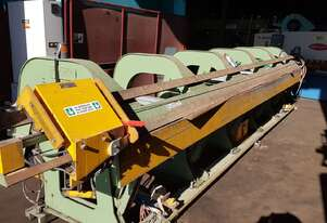 Machine Makers slitter folder sheet metal