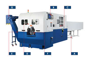 FONG HO - THC-B90NC Fully Automatic Thungsten Carbide Sawing Machine
