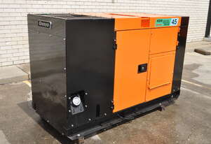40KVA DENYO ISUZU JAPAN SILENCED DIESEL GENERATOR VERY GOOD CONDITION LOAD TESTED TO 100% LOAD