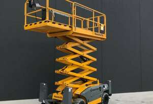 Rough Terrain Scissor Lift Hire Melbourne West
