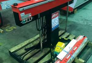 1250E Magnetic Panbrake Includes Slotted, Narrow & Segmented Clamp Bars 1300 x 1.6mm Mild Steel Bend
