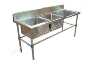 Brayco DS-R Double Bowl Stainless Steel Sink (700m