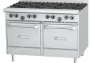 Garland GF48-8LL Heavy Duty 1200mm 8 Open Burners