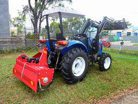 2.1m Heavy Duty Rotary Cultivator - 70HP Gearbox - picture2' - Click to enlarge