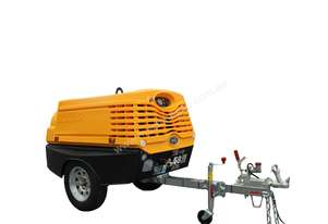 S58 Portable Air Compressor-106 cfm @ 100 psi