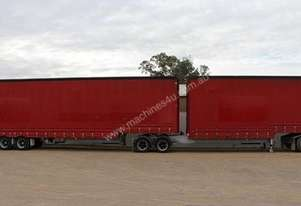 1998 FREIGHTER B DOUBLE CURTAINSIDER / TAUTLINER