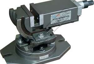 HFV-75W 3 Way Angle Milling Vice 75mm Jaw Width 82mm Jaw Opening