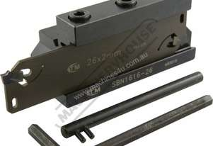 L465 Professional Lathe Parting Tool Kit - Insert Type 16mm Tool Height
