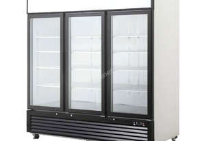 Three Door Glass Fridge 2050L - BCC03-GL