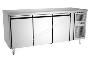Exquisite USF400H Three Door Underbench Freezer