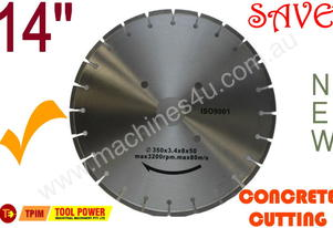 CONCRETE CUTTING BLADE 350 x 50mm  SEG can change