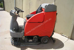 2008 Hako B750R Ride on Electric Floor Scrubber
