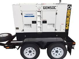 55 KVA Diesel Cummins Generator Trailer Mounted - picture0' - Click to enlarge