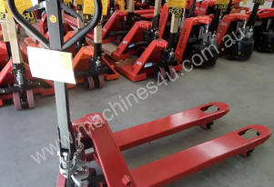 Narrow with Hand Brake 2.5 Ton Pallet Jack
