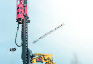 MOVAX EML-12 LEADER MOUNTED PILING HAMMER